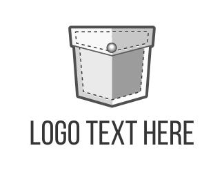 Blockchain - Pocket Security logo design