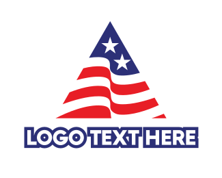 Administration - USA Triangle logo design