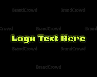 Dazzle - Military Bright Text  logo design