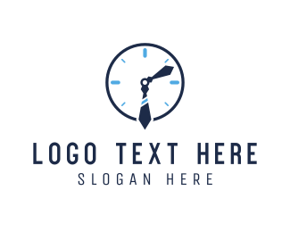 Watch - Office Clock logo design