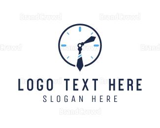 Second - Office Clock logo design
