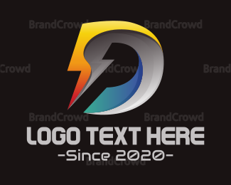 Generic - Tech Letter D logo design