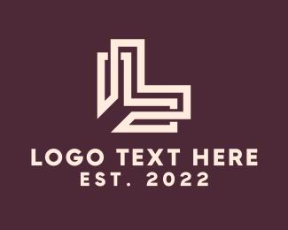 Letter L - Intricate Letter L logo design