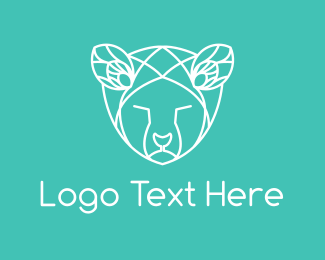 Geometric - Geometric Animal logo design