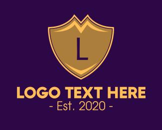 Established - Royal Shield Lettermark logo design