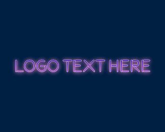 Space - Outer Space Wordmark logo design