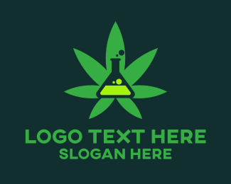 Cannabis - Cannabis Experiment logo design