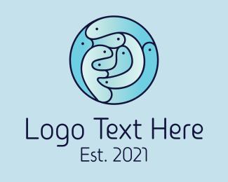 Group - Marine Fish Group  logo design