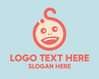 Baby - Baby Head logo design