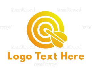 Federation - Gradient Bullseye logo design