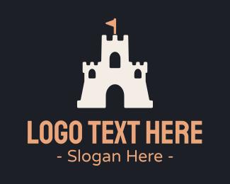 Castle - Sand Castle logo design
