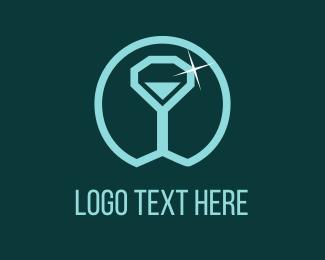 Lux - Diamond Cup logo design
