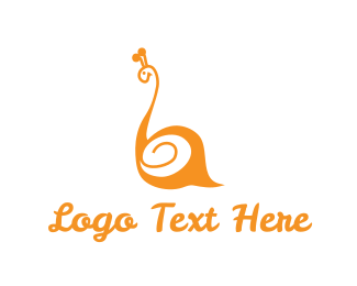 Orange Snail Logo