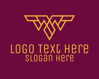 Letter W - Minimalist Letter W logo design