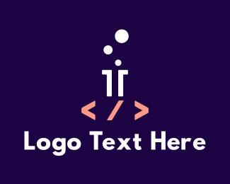 It Company - Computer Science logo design