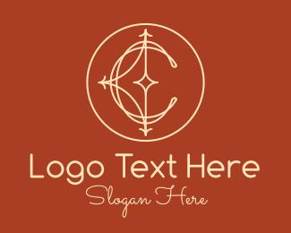 Lettering - Elegant Letter C logo design