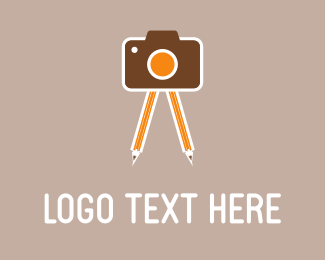 Camera & Pencils Logo