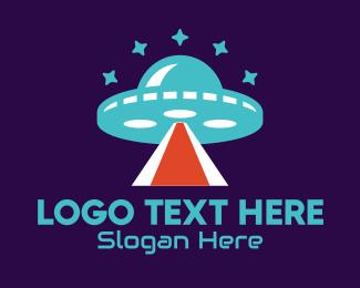 """Alien Spaceship UFO Star"" by novita007"