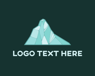 Snow - Blue Glacier logo design