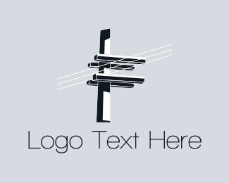 Wire - Electric Lighting logo design