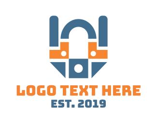 Modem - Industrial Tech logo design
