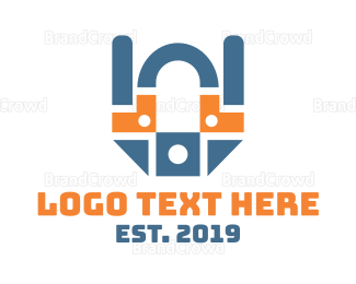 Hardware - Industrial Tech logo design