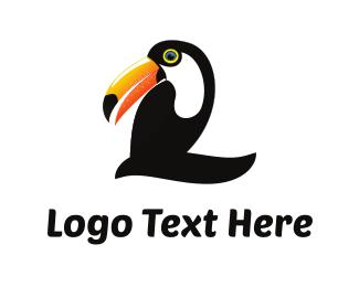 Toucan Number 2 Logo