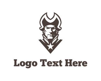 Patriot - Patriot Silhouette logo design