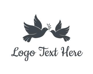 Peace - Peace Doves logo design