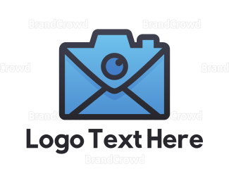 Post Office - Mail Camera logo design