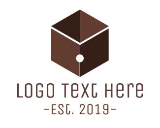 Pen - Pen Cube logo design