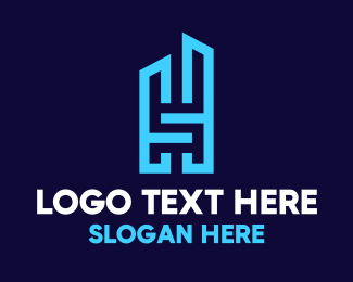 Building - H & S Building logo design
