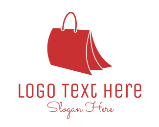 Book Store - Bag Folder logo design