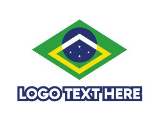 Brasilia - Brazil Symbol logo design