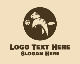 Pet Store - Playing Pet Cat  logo design