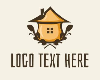 Hut - Herb Hut logo design
