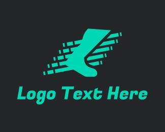 Runner - Fast Foot Sprint logo design