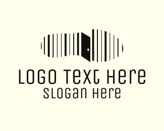 Door - Step & Door logo design
