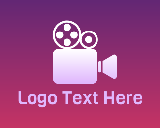 Camcorder - Reel Director  logo design