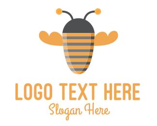 Bee - Bee Strong logo design