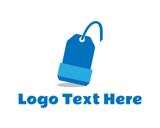 Bargain - Blue Tag logo design