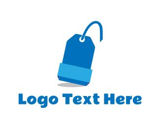 Coupon - Blue Tag logo design