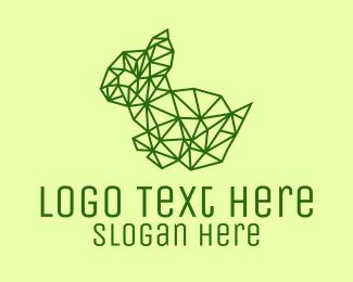 Rodent - Simple Rodent Line Art logo design
