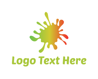Paint - Colorful Paint logo design