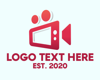 Video - Tablet Video Camera logo design
