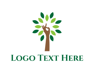 Zen - Yoga Tree logo design