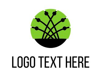 Link - Network Links logo design