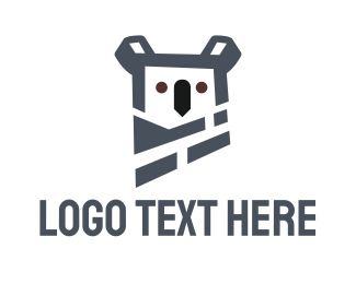 Brisbane - Koala Bear logo design