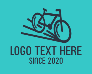 Bike Club - Simple Bicycle Bike logo design