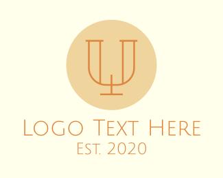 Letter U - Elegant Letter U logo design